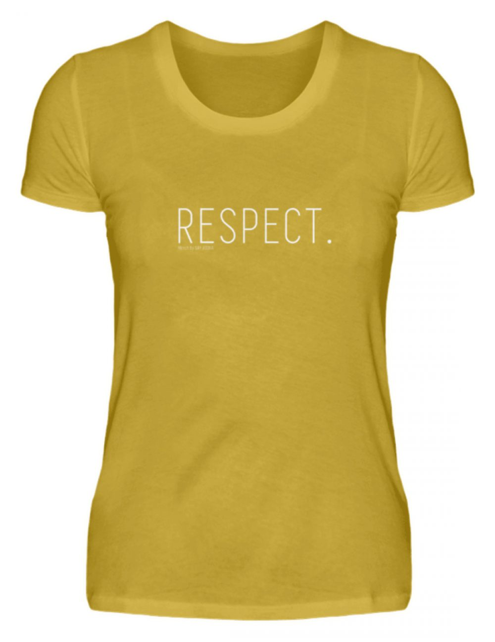 RESPECT. - Damen Premiumshirt-2980