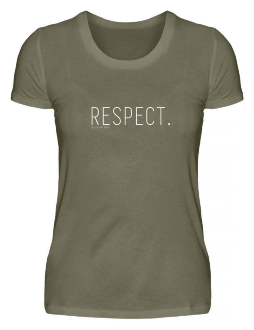 RESPECT. - Damen Premiumshirt-627