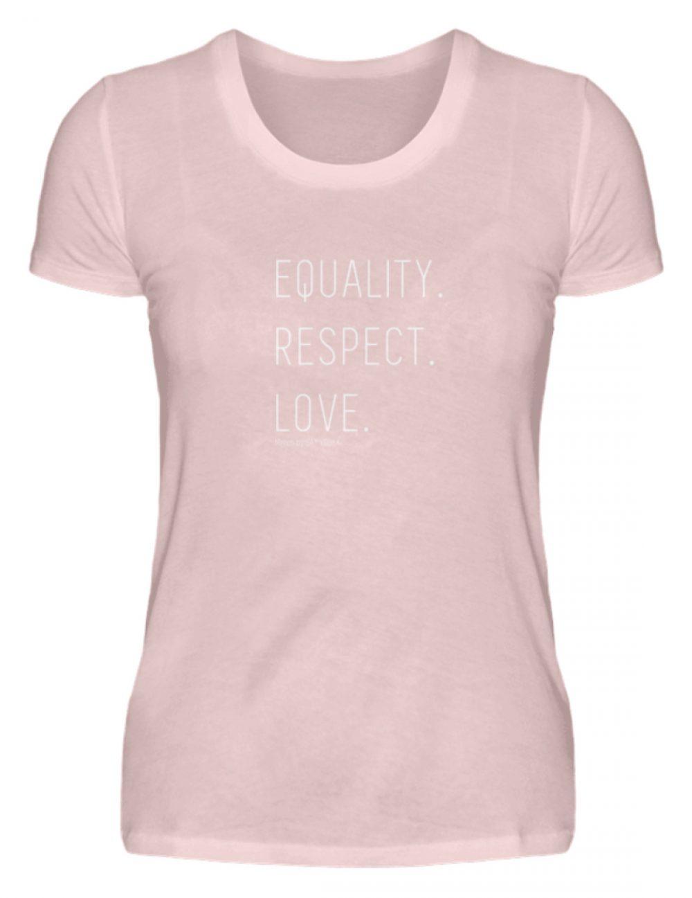EQUALITY. RESPECT. LOVE. - Damen Premiumshirt-5949