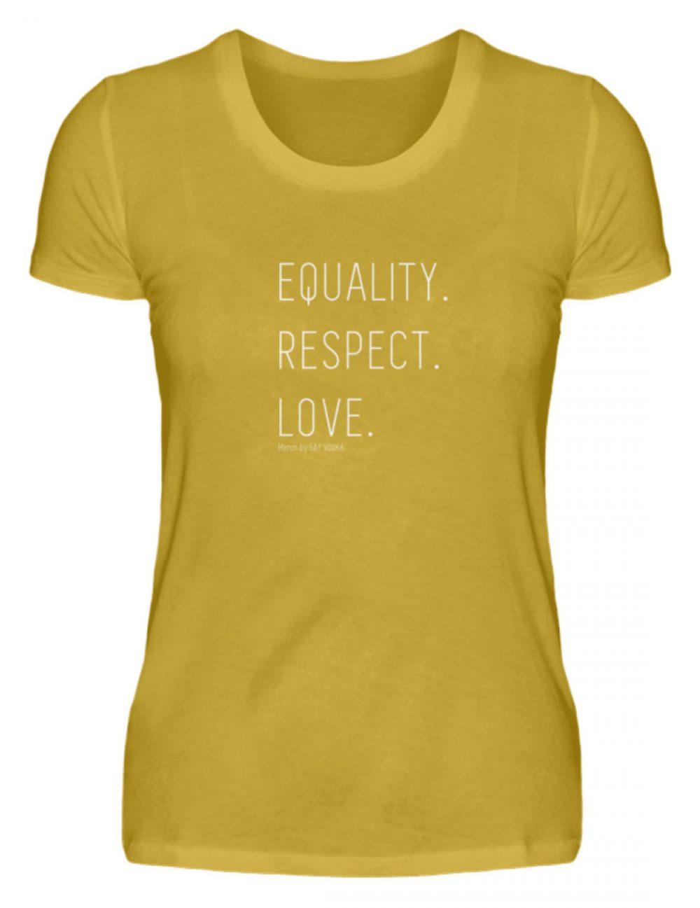 EQUALITY. RESPECT. LOVE. - Damen Premiumshirt-2980