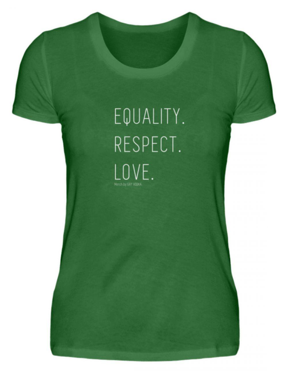EQUALITY. RESPECT. LOVE. - Damen Premiumshirt-30