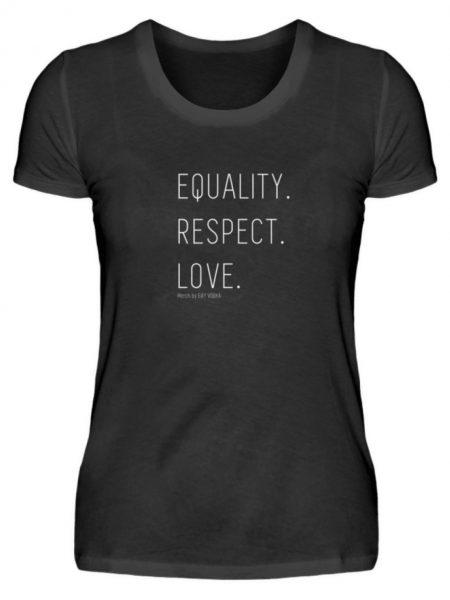 EQUALITY. RESPECT. LOVE. - Damen Premiumshirt-16