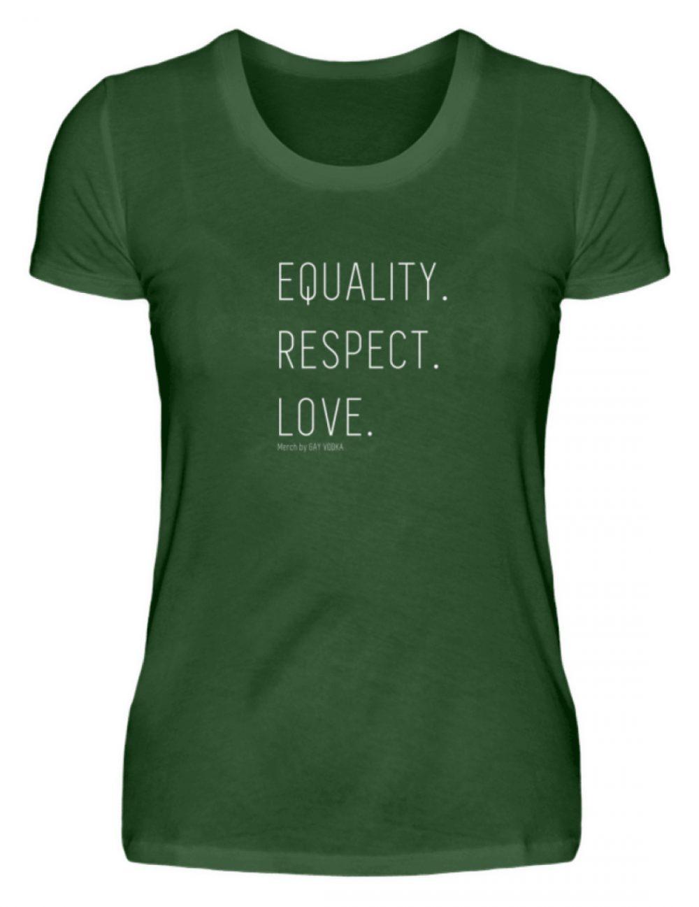 EQUALITY. RESPECT. LOVE. - Damen Premiumshirt-2936