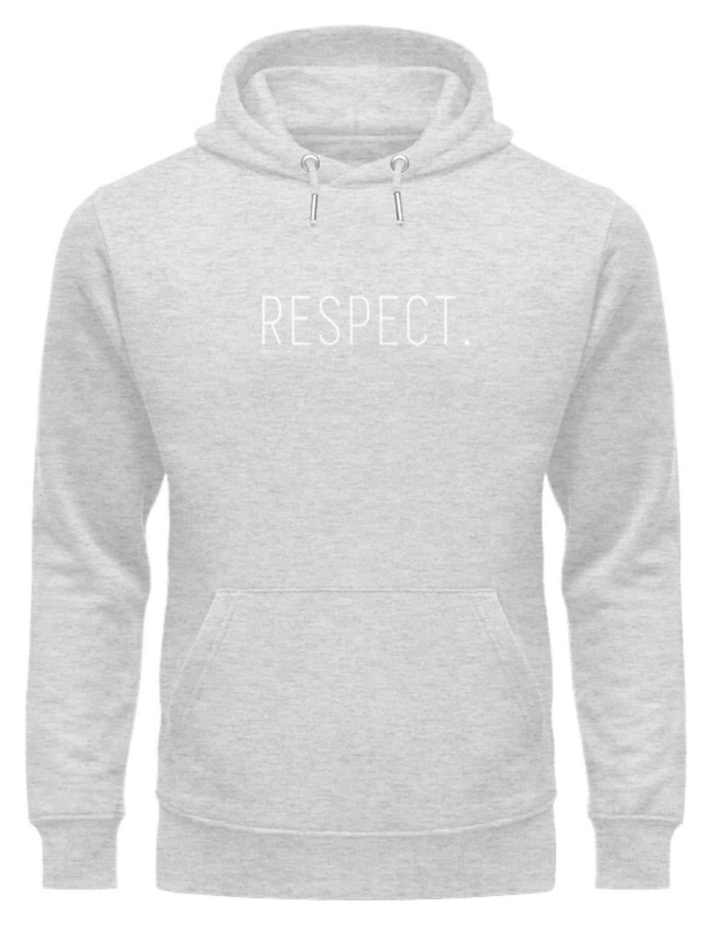 RESPECT. - Unisex Organic Hoodie-6892