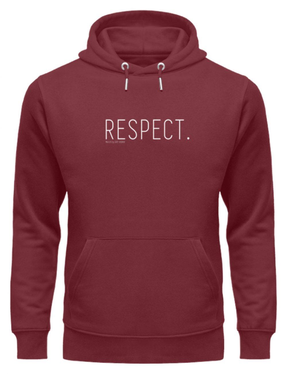 RESPECT. - Unisex Organic Hoodie-6883