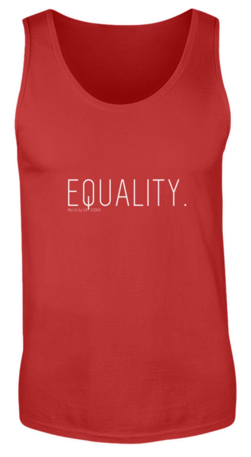 EQUALITY. - Herren Tanktop-4
