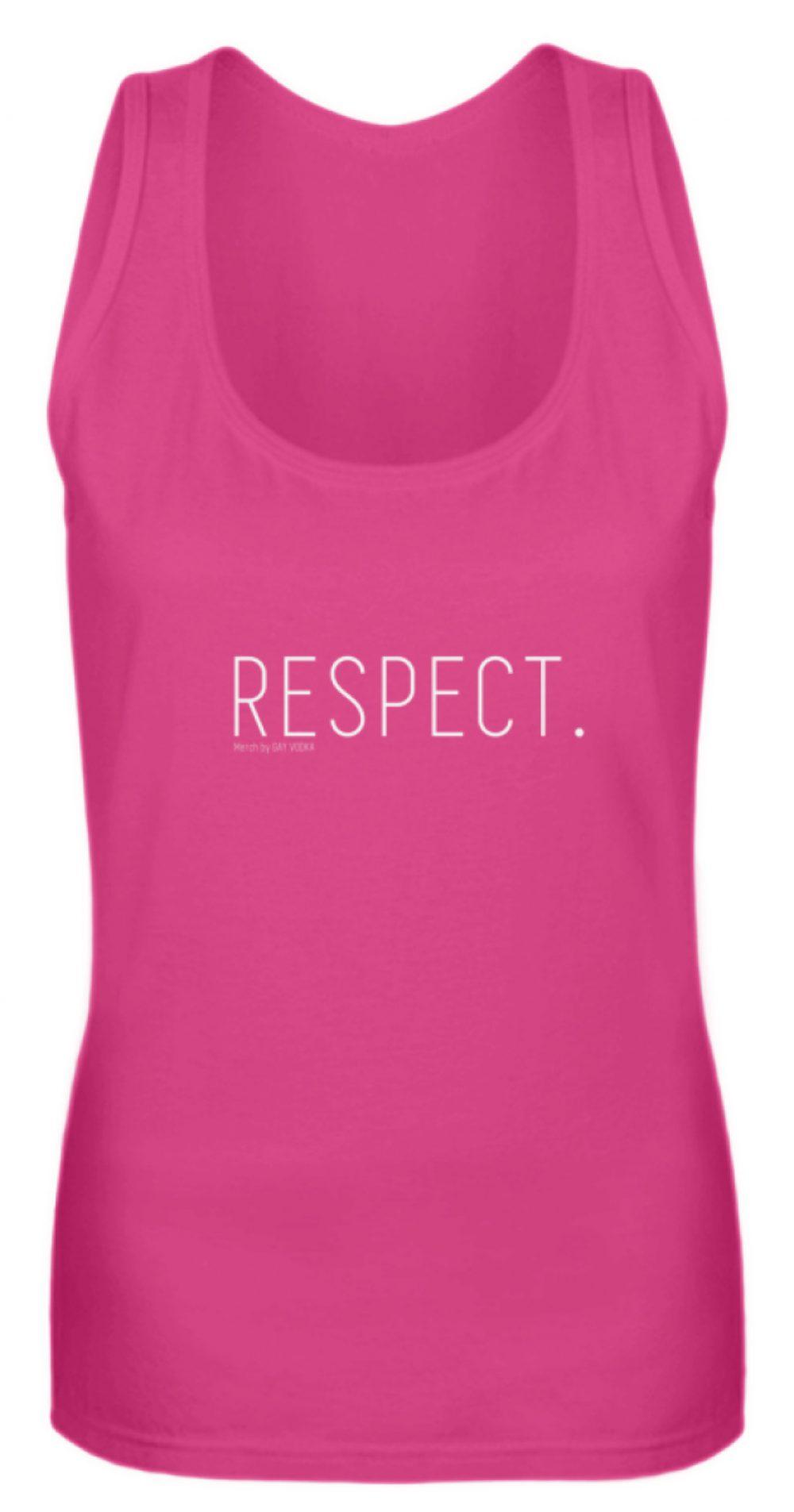 RESPECT. - Frauen Tanktop-28