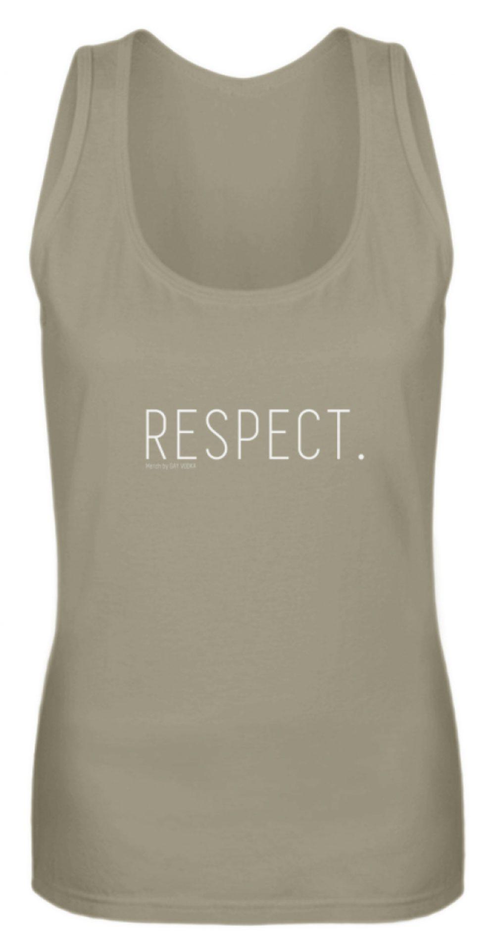 RESPECT. - Frauen Tanktop-651
