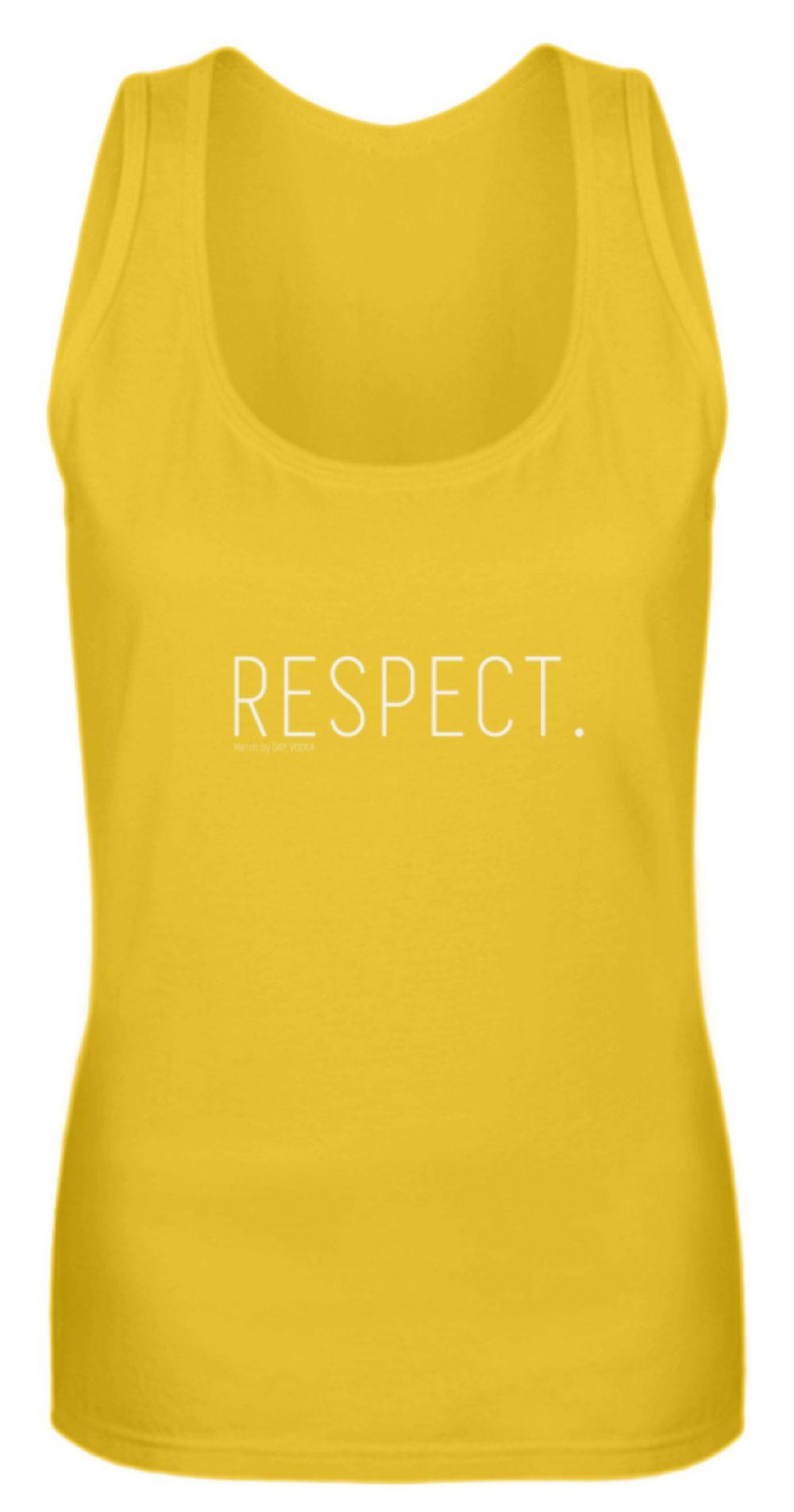 RESPECT. - Frauen Tanktop-3201