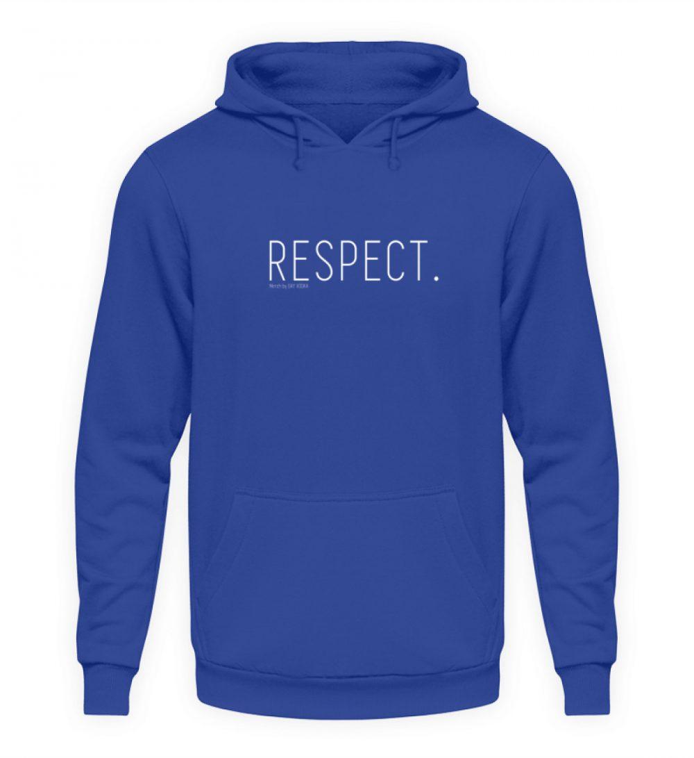 RESPECT. - Unisex Kapuzenpullover Hoodie-668