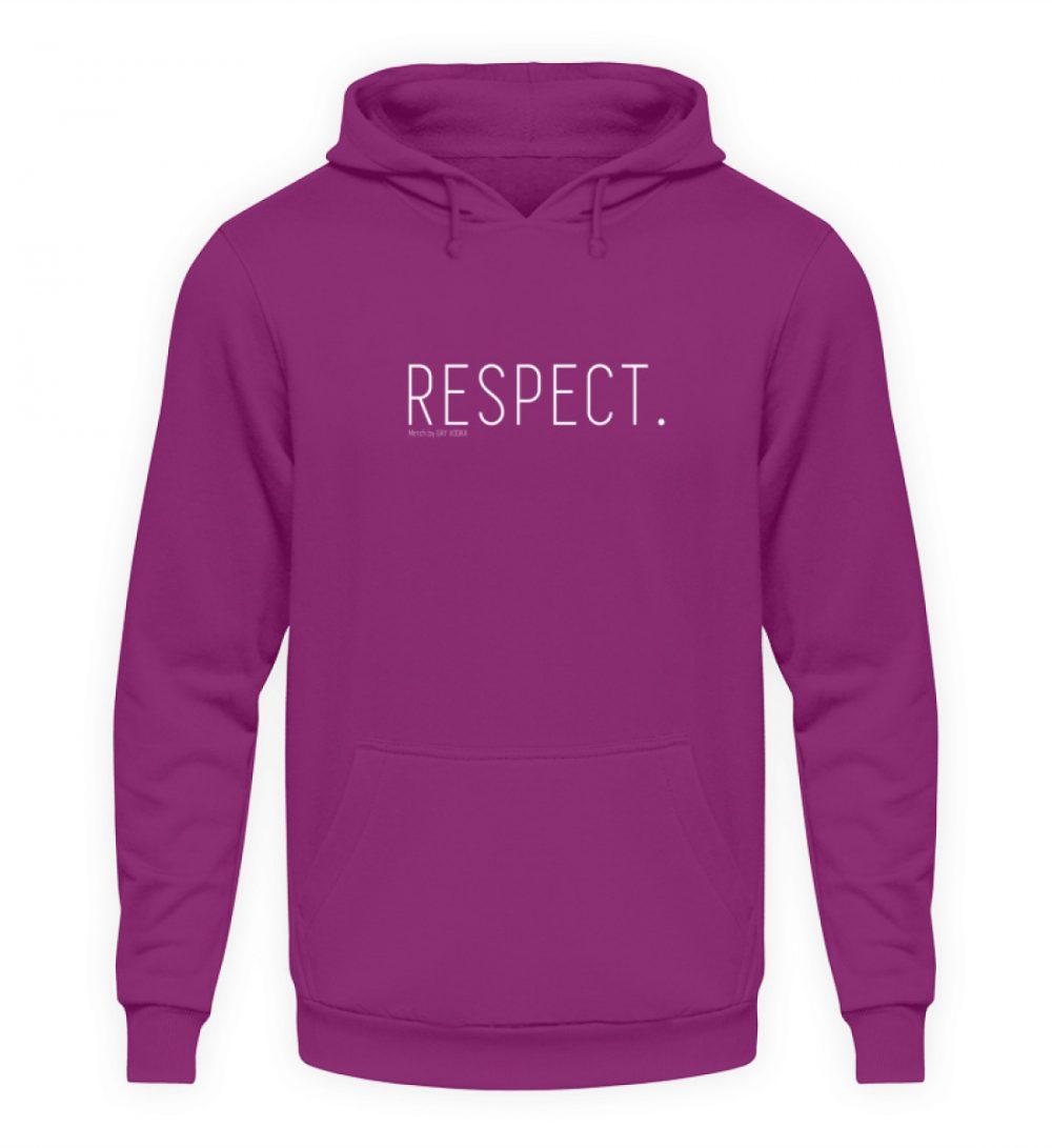 RESPECT. - Unisex Kapuzenpullover Hoodie-1658