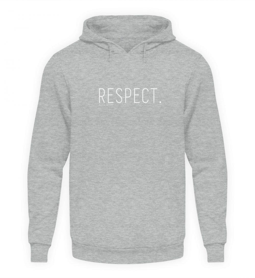 RESPECT. - Unisex Kapuzenpullover Hoodie-6807