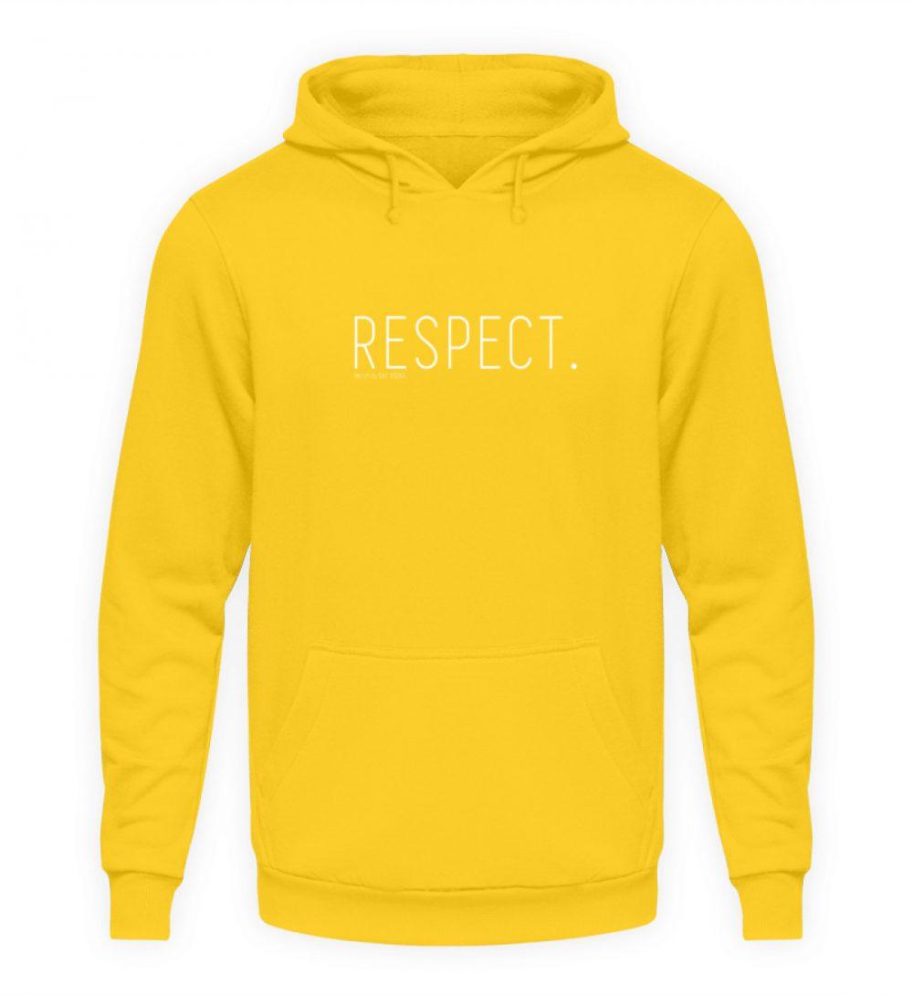RESPECT. - Unisex Kapuzenpullover Hoodie-1774