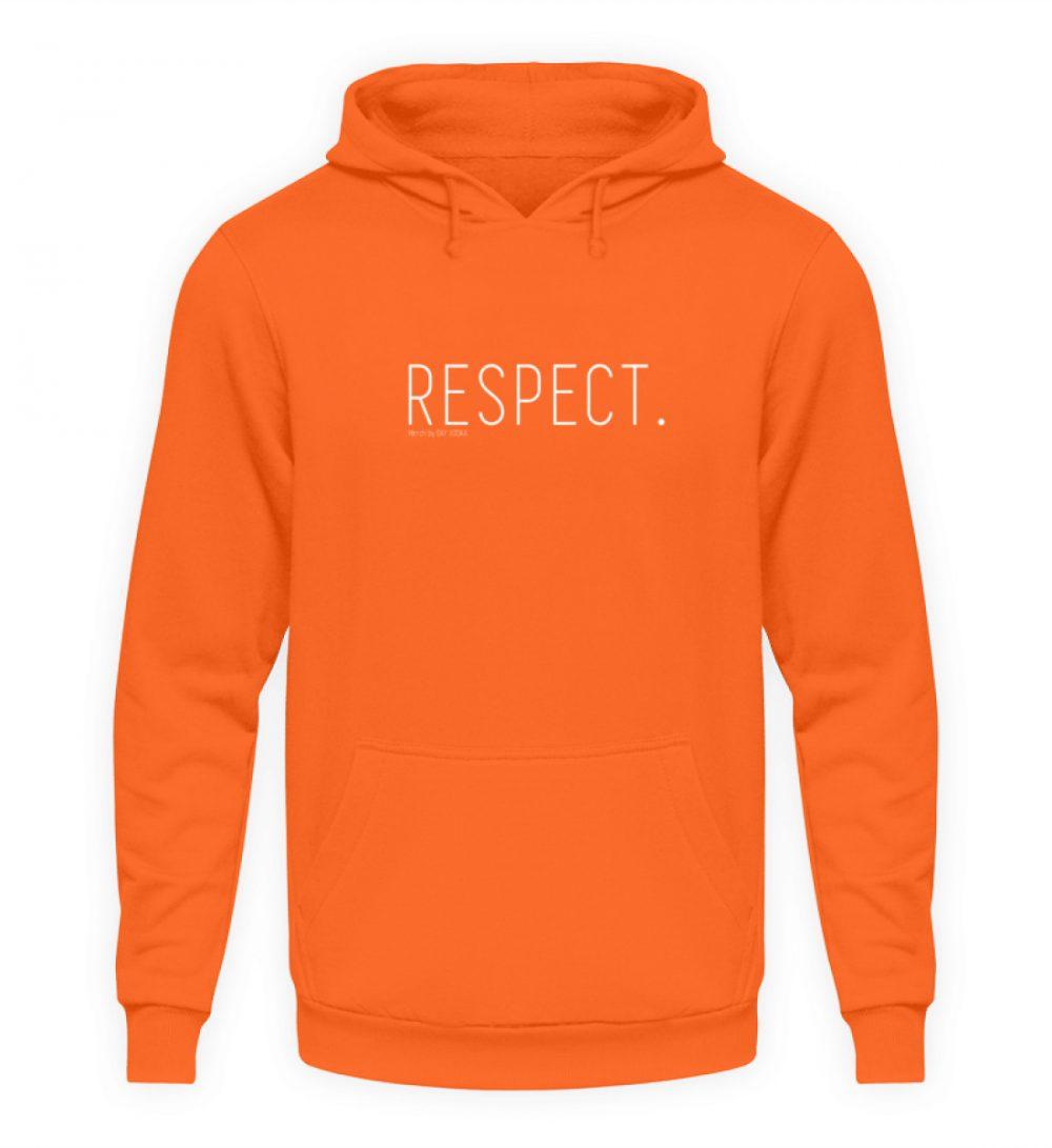 RESPECT. - Unisex Kapuzenpullover Hoodie-1692