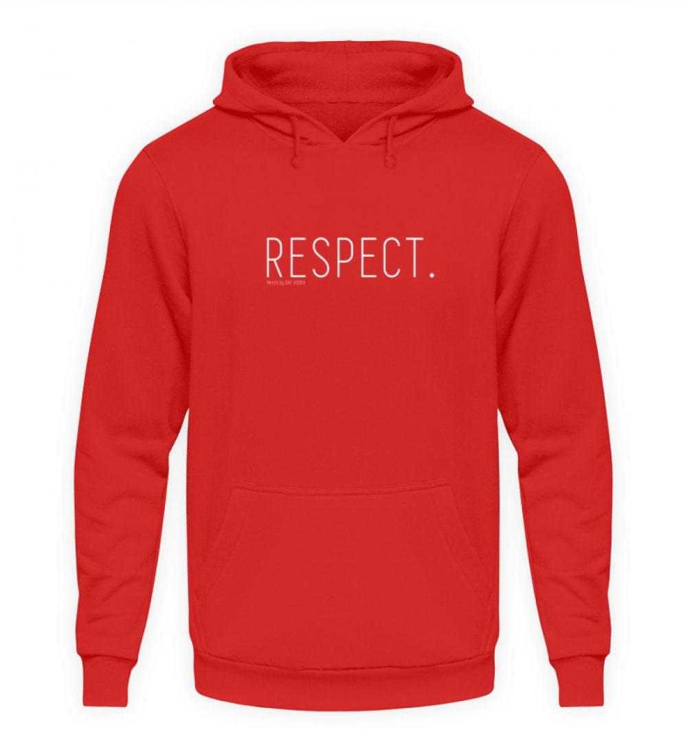 RESPECT. - Unisex Kapuzenpullover Hoodie-1565