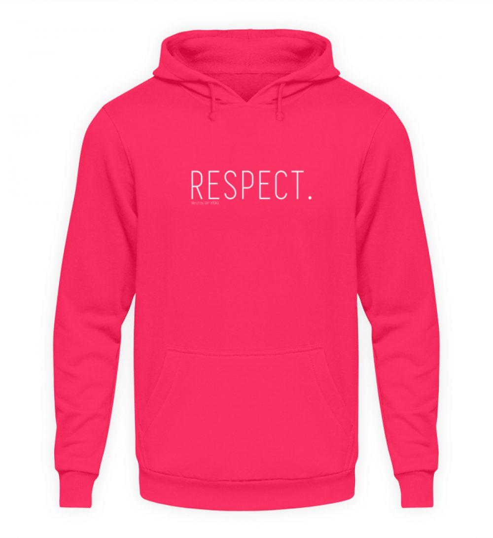 RESPECT. - Unisex Kapuzenpullover Hoodie-1610