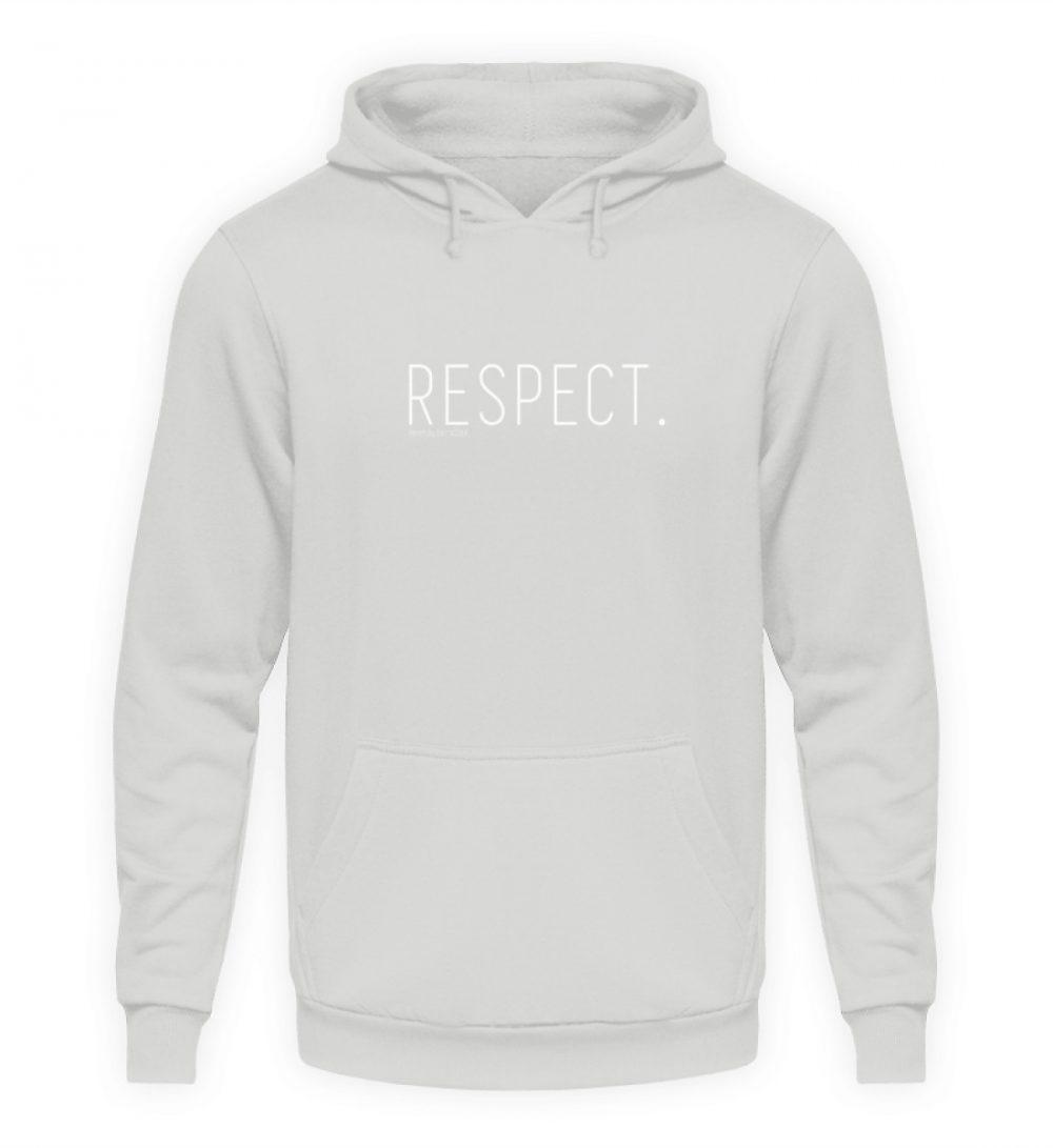 RESPECT. - Unisex Kapuzenpullover Hoodie-23
