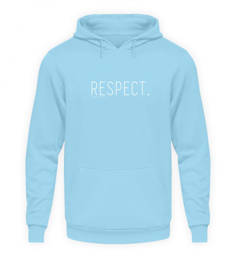 RESPECT. - Unisex Kapuzenpullover Hoodie-674