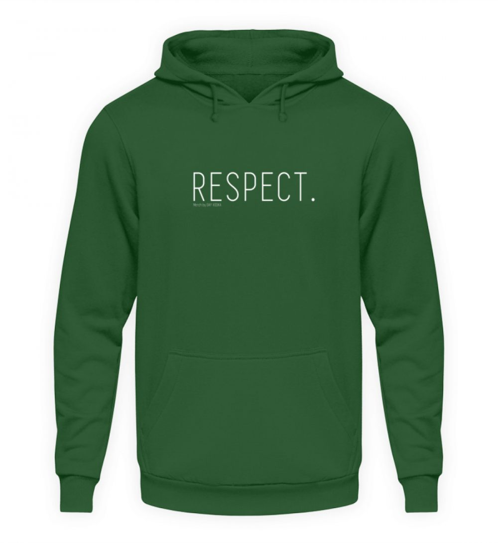 RESPECT. - Unisex Kapuzenpullover Hoodie-833