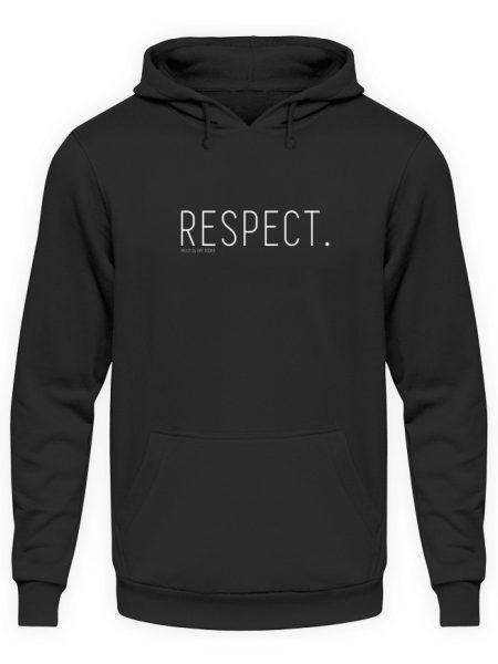 RESPECT. - Unisex Kapuzenpullover Hoodie-1624
