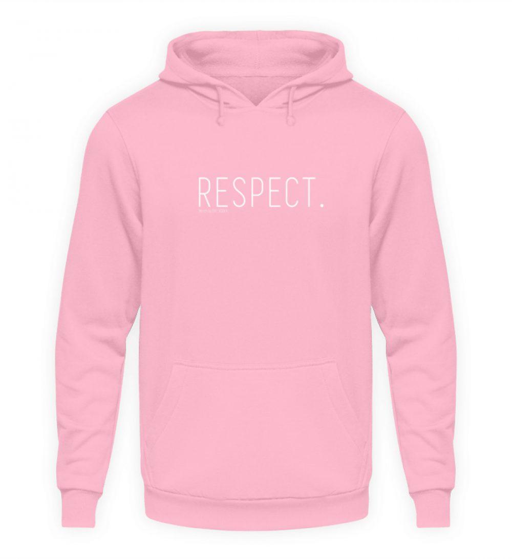 RESPECT. - Unisex Kapuzenpullover Hoodie-1490