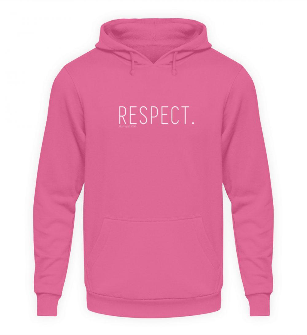 RESPECT. - Unisex Kapuzenpullover Hoodie-1521