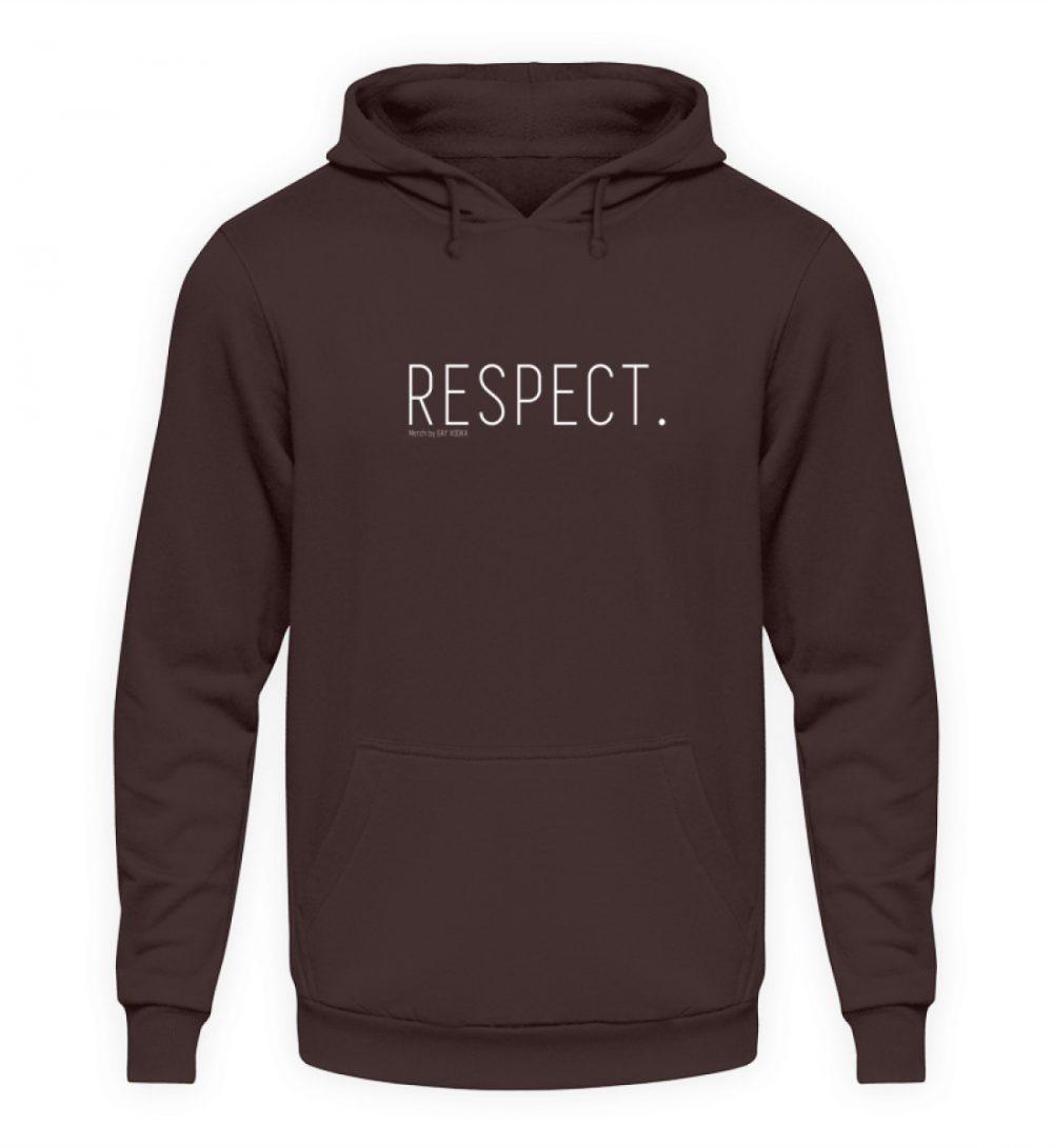 RESPECT. - Unisex Kapuzenpullover Hoodie-1604