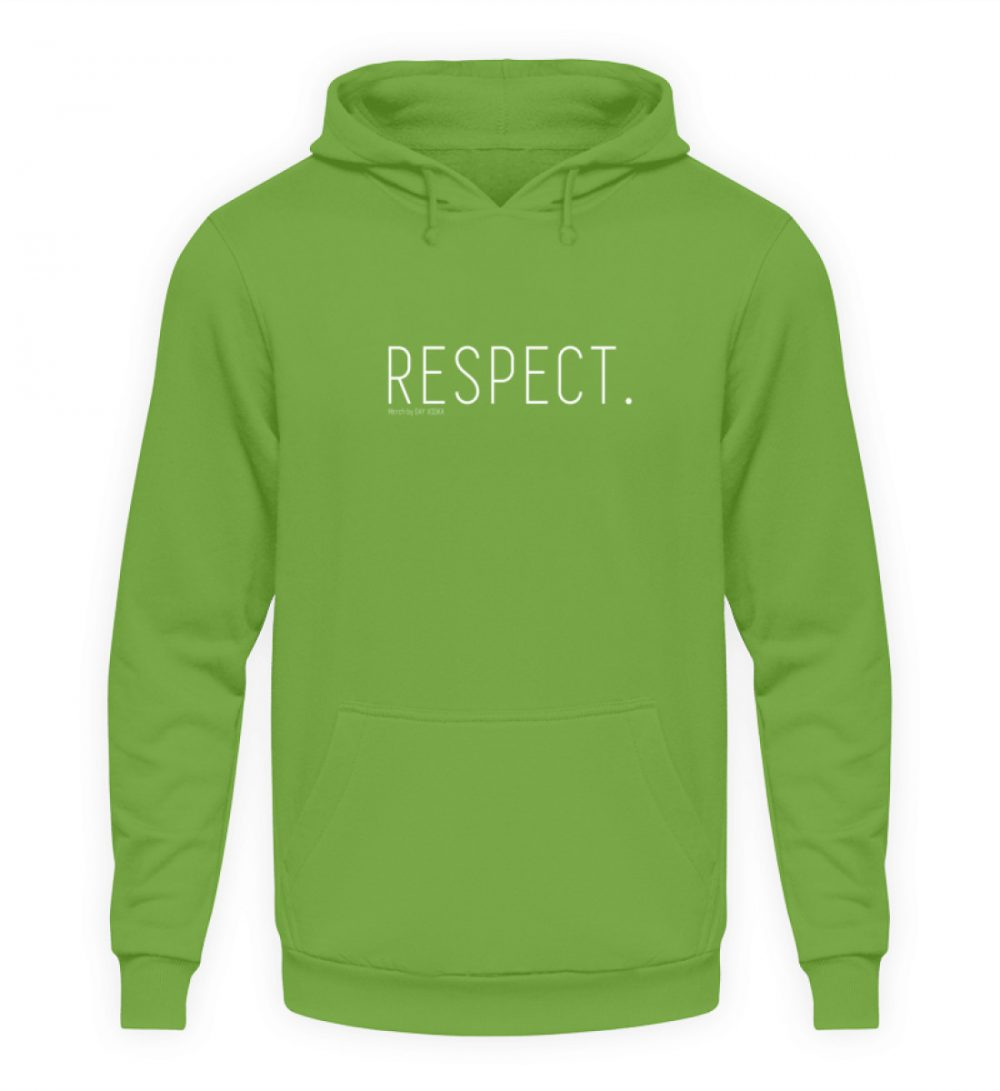 RESPECT. - Unisex Kapuzenpullover Hoodie-1646