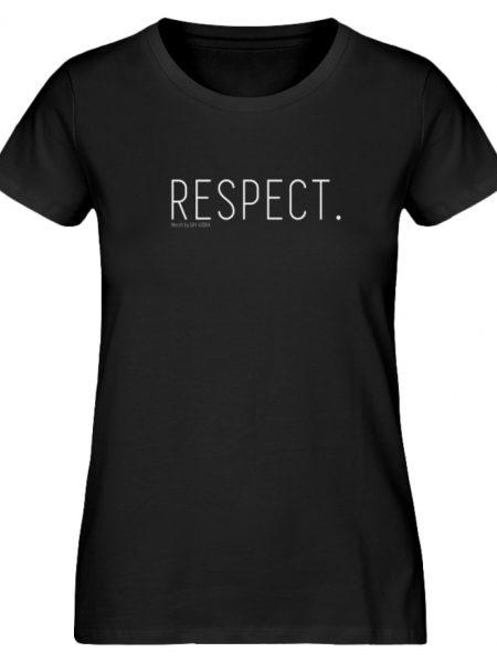 RESPECT. - Damen Premium Organic Shirt-16