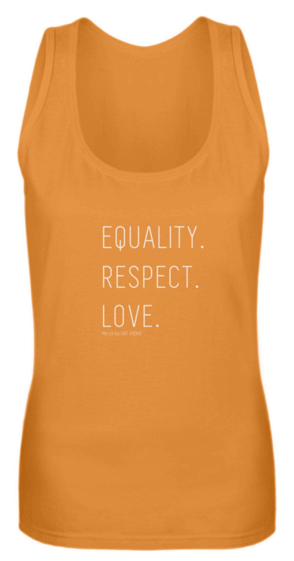 EQUALITY. RESPECT. LOVE. - Frauen Tanktop-20