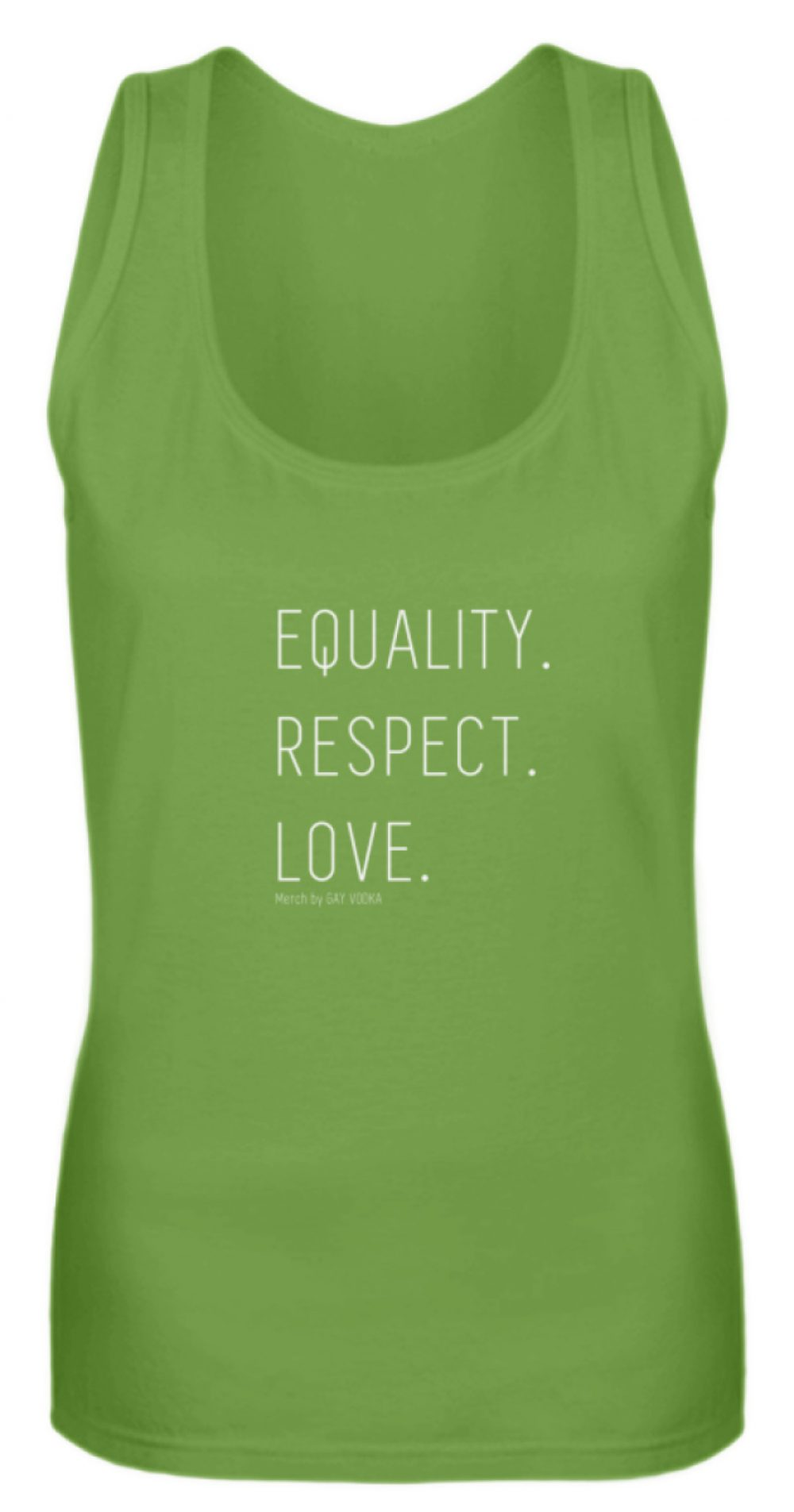 EQUALITY. RESPECT. LOVE. - Frauen Tanktop-1646
