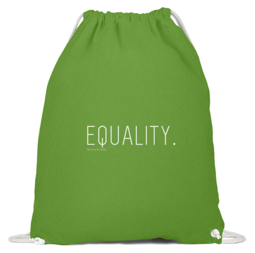 EQUALITY. - Baumwoll Gymsac-1646