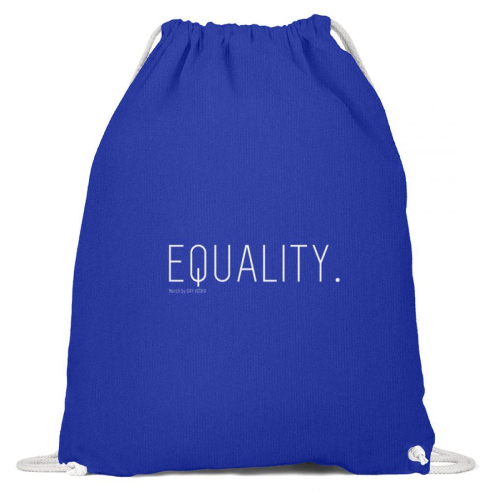 EQUALITY. - Baumwoll Gymsac-6232