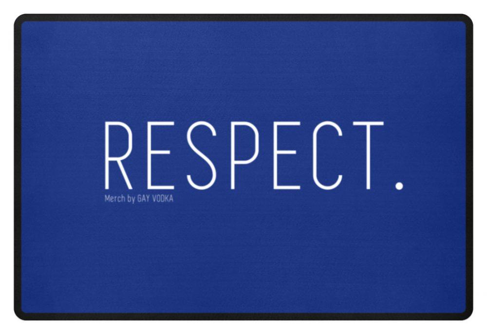 RESPECT. - Fußmatte-27