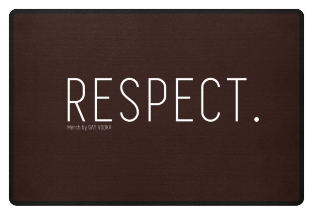 RESPECT. - Fußmatte-1074