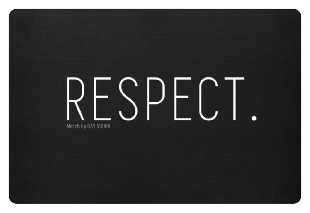 RESPECT. - Fußmatte-16
