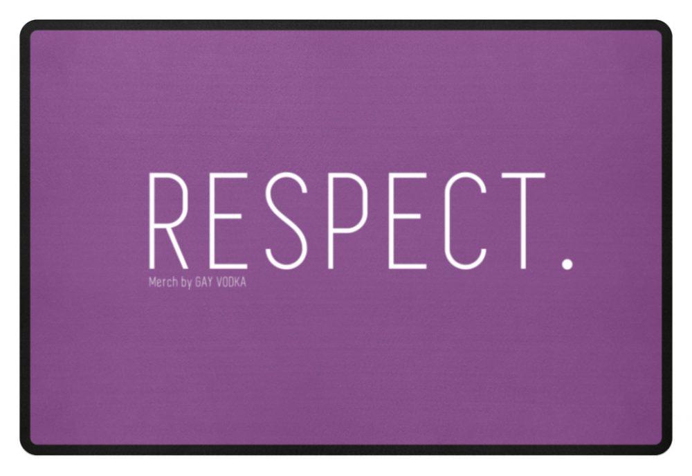 RESPECT. - Fußmatte-31