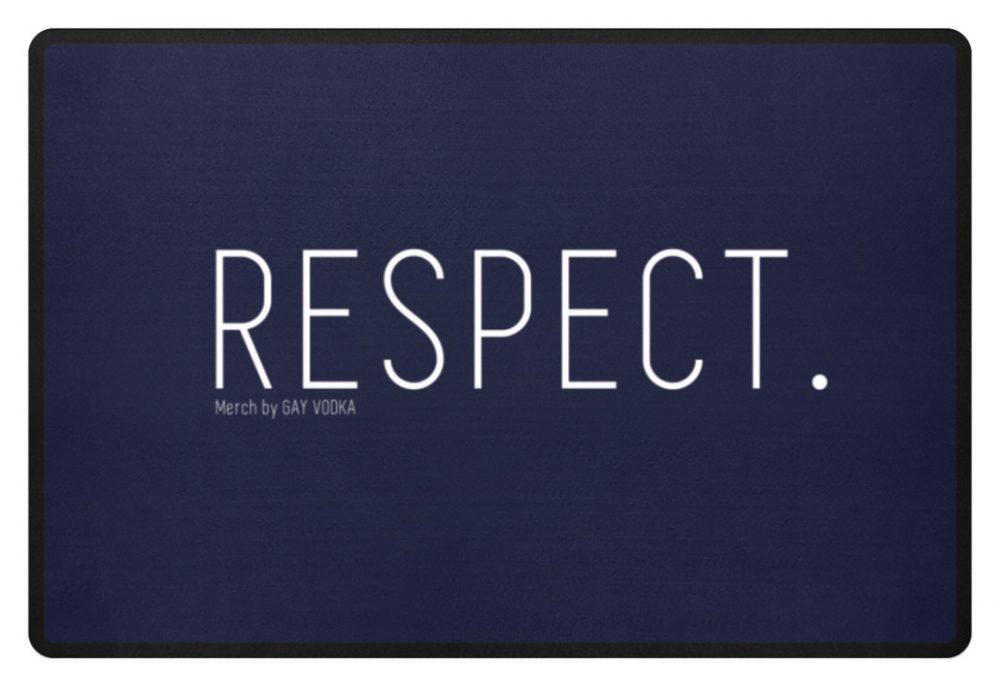 RESPECT. - Fußmatte-198