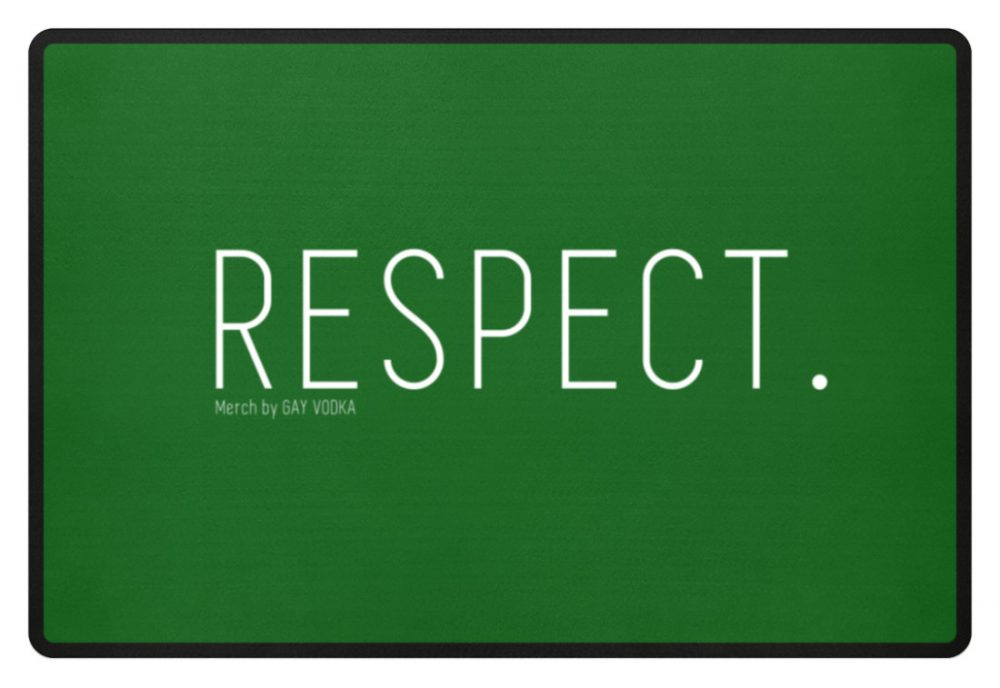 RESPECT. - Fußmatte-718