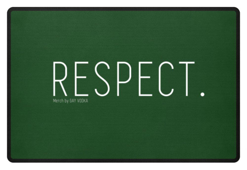 RESPECT. - Fußmatte-833