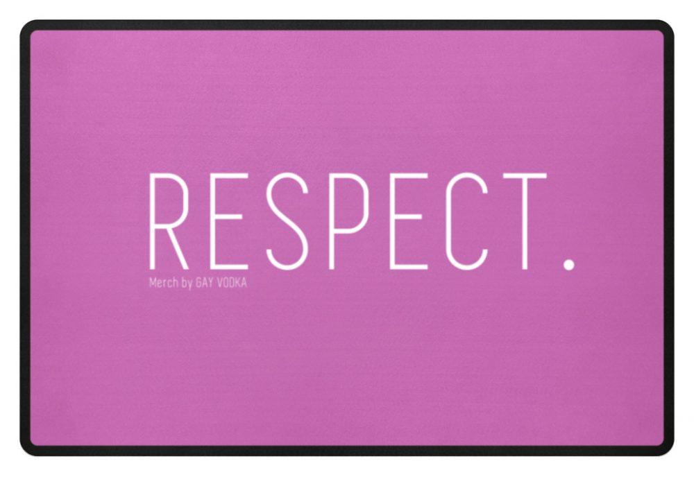 RESPECT. - Fußmatte-5759