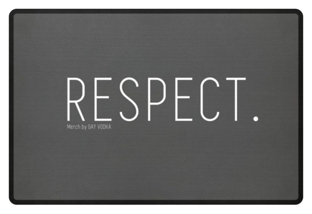 RESPECT. - Fußmatte-6778