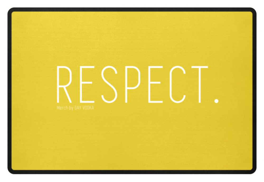 RESPECT. - Fußmatte-5766