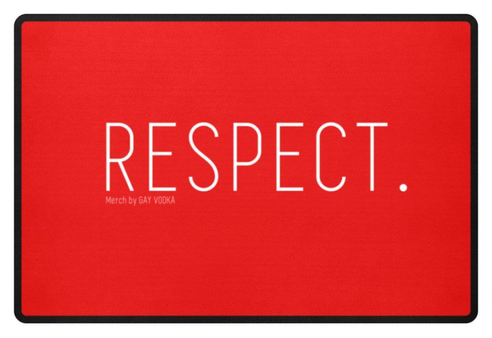 RESPECT. - Fußmatte-5761