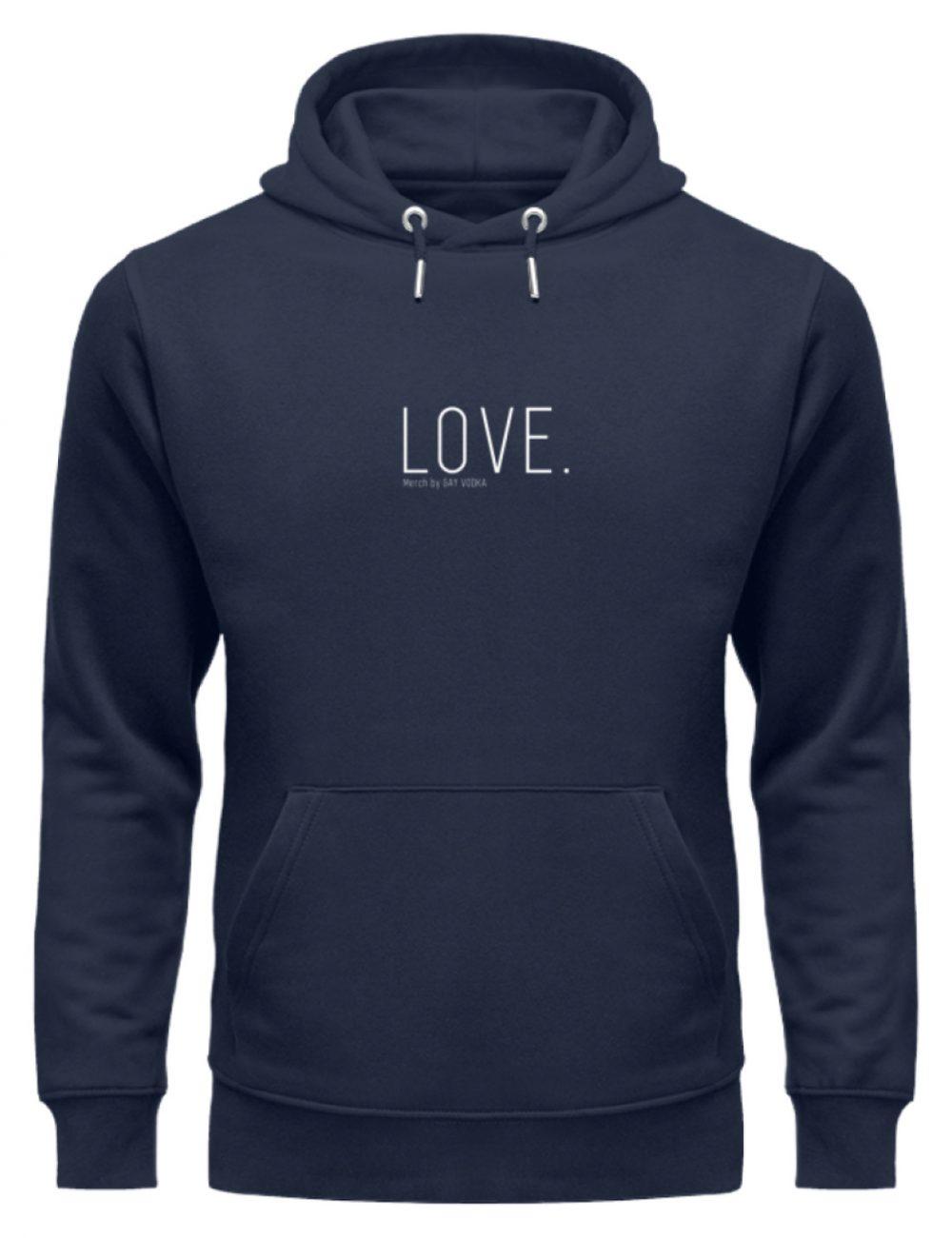 LOVE. - Unisex Organic Hoodie-6887