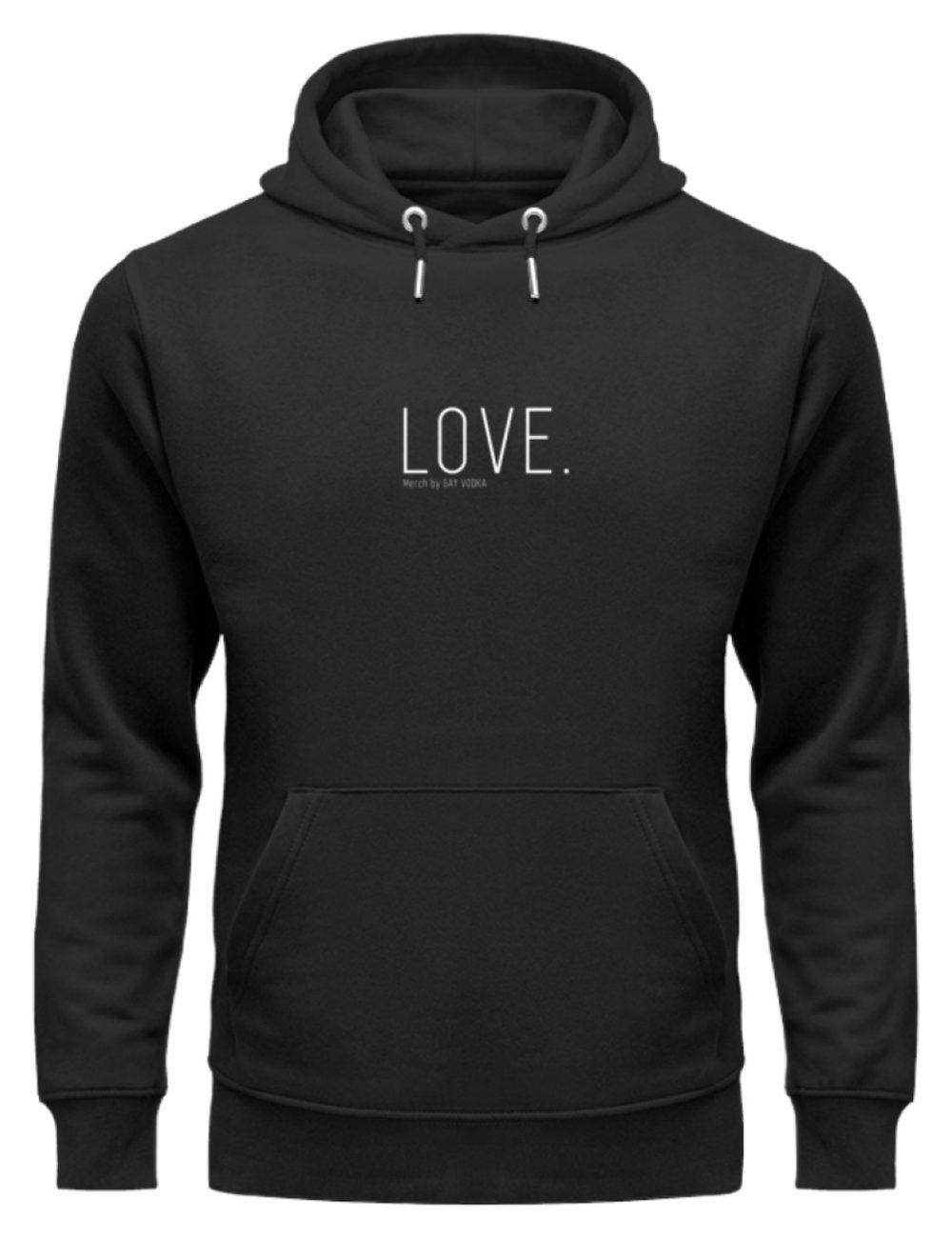 LOVE. - Unisex Organic Hoodie-16