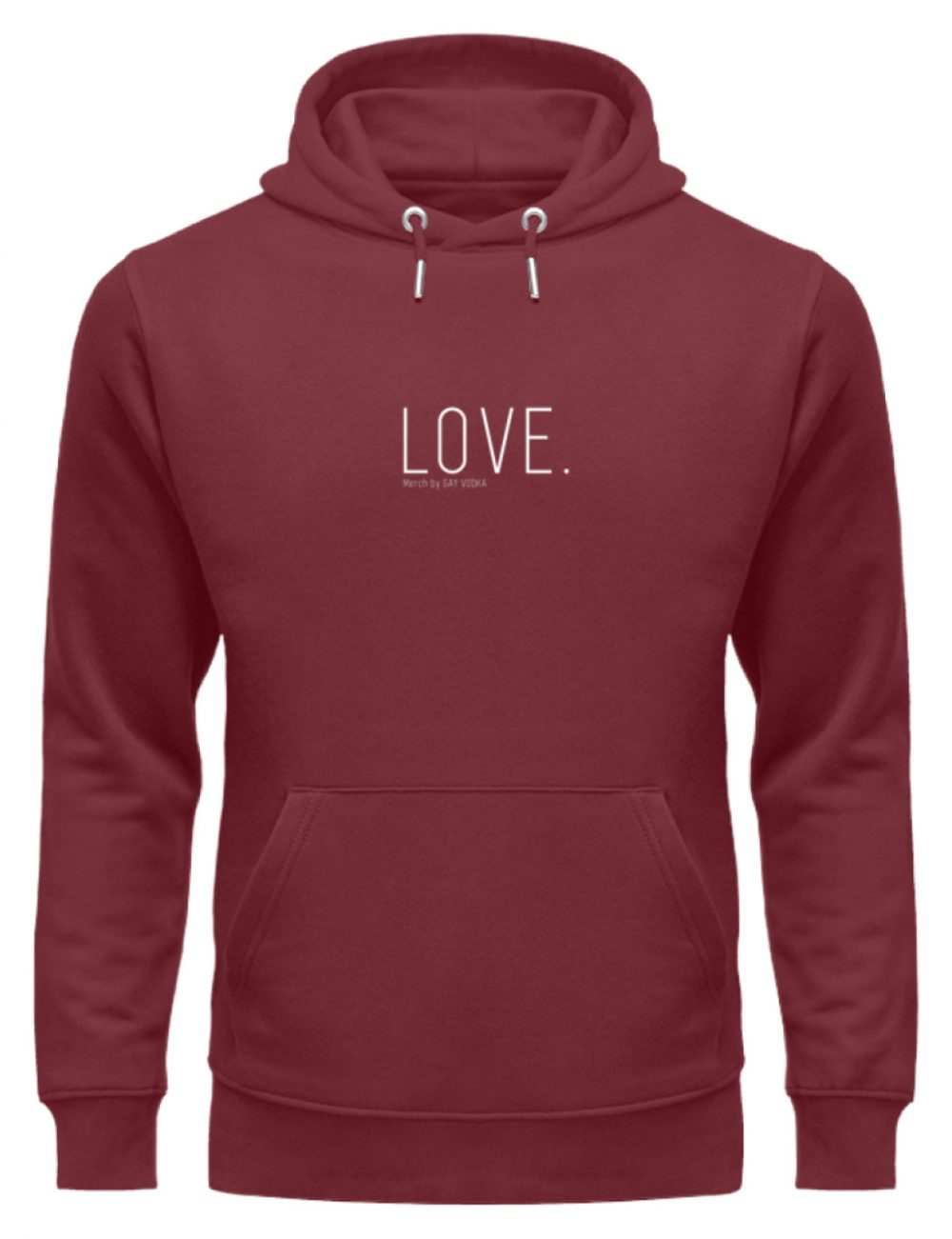 LOVE. - Unisex Organic Hoodie-6883