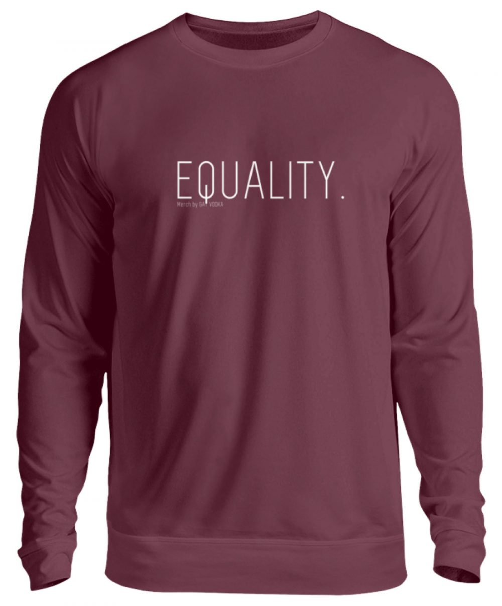 EQUALITY. - Unisex Pullover-839