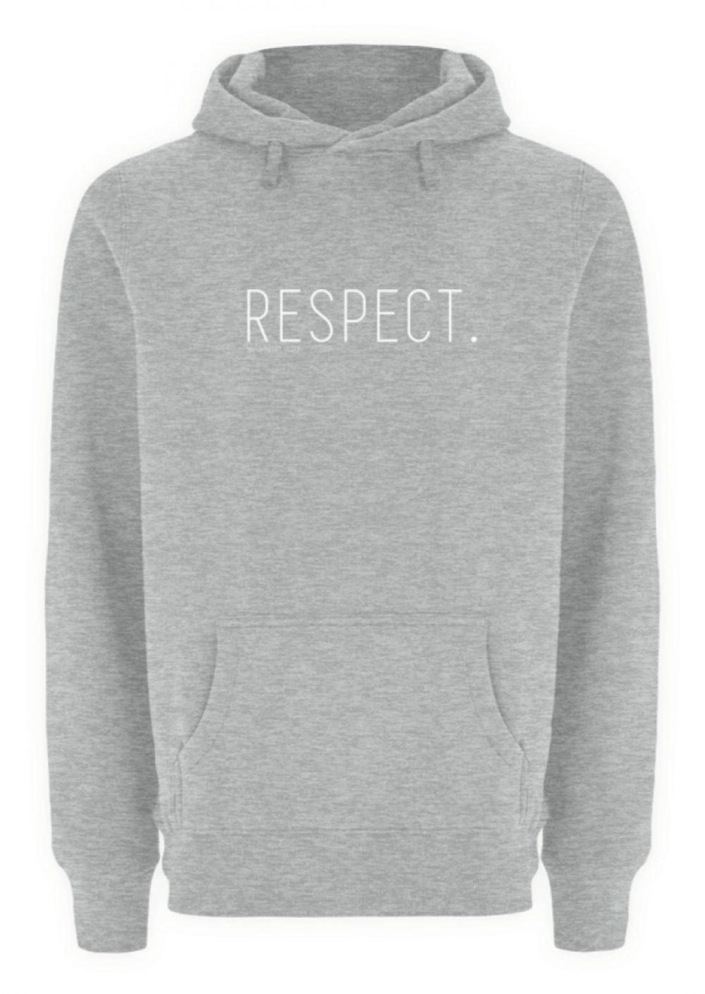 RESPECT. - Unisex Premium Kapuzenpullover-6807