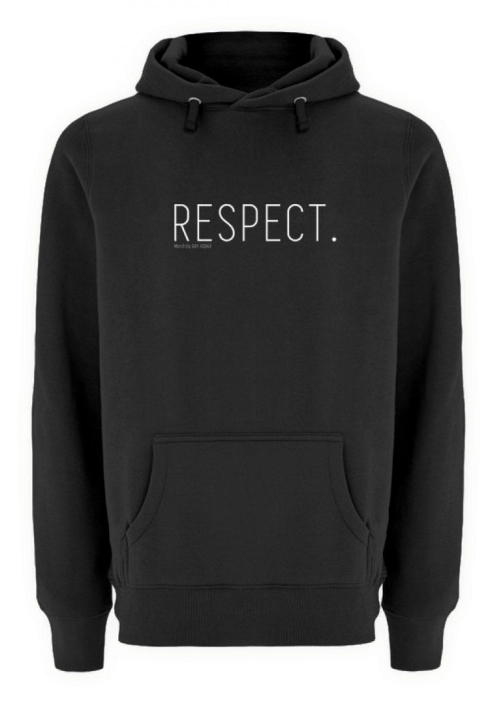 RESPECT. - Unisex Premium Kapuzenpullover-16